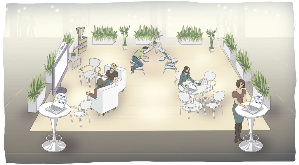 Laflamme – Telus Mall Concept #3